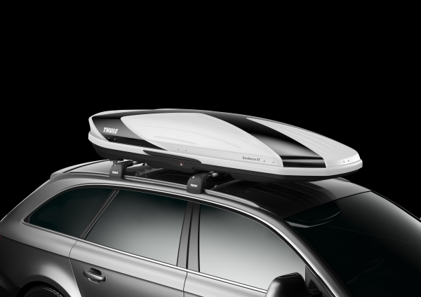 Katuseboks THULE Excellence XT, White/Black (Limited Edition)(470L)