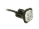 Vilkur Button Blast LED R65 kollane